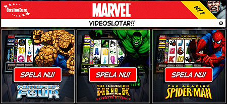 Fantastic 4 Slots - Spela Playtechs Fantastic Four spelautomat
