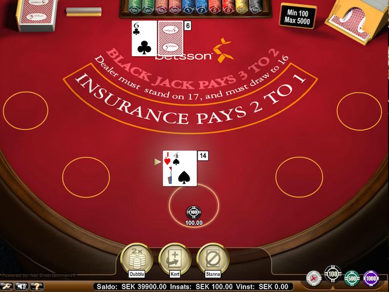 blackjack-betsson