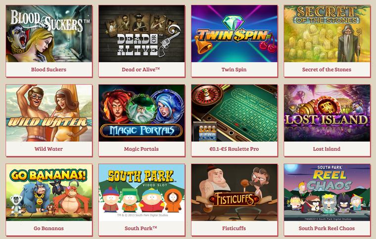 Spel hos Anna Casino