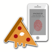 Pizza eller iPhone 5S?