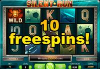Freespins p� Silent Run!